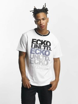Ecko Unltd. T-Shirt Fuerteventura weiß