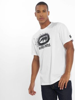 Ecko Unltd. T-Shirt Dispersion weiß