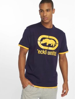 Ecko Unltd. T-Shirty Best Buddy niebieski