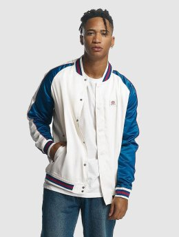 Ecko Unltd. Teddy College Jacket blanc