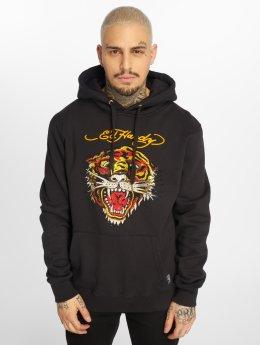 Ed Hardy Hoodie Tiger svart