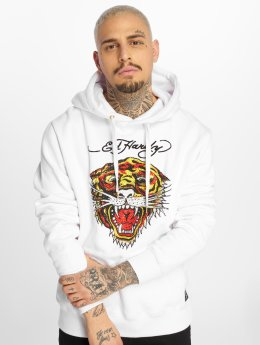 Ed Hardy Hoodie Tiger white