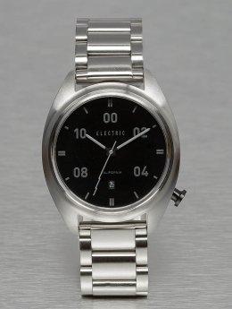 Electric horloge OW01 Stainless Steel grijs