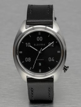 Electric Klocka OW01 Leather  svart