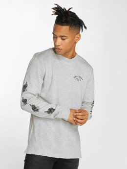 Electric Longsleeve Skull And Dagger grau