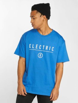 Electric T-shirt CORP IDENDITY blå