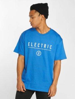 Electric T-shirt CORP IDENDITY blu