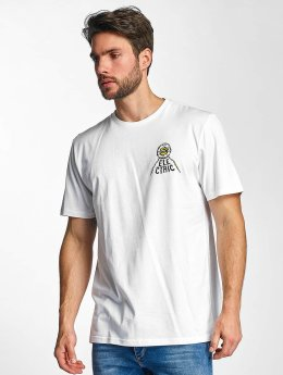Electric t-shirt WILD SOULS wit