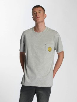Electric T-Shirty Fast Time Pocket  szary