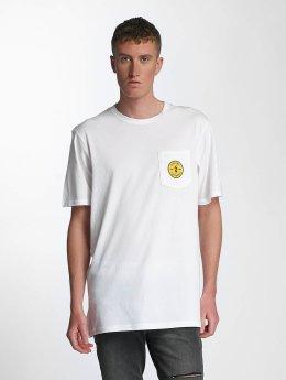 Electric T-skjorter Fast Time Pocket hvit