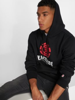 Element Hoodies Vertical čern