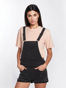 Element Frauen Latzhose Weekend Overall in schwarz