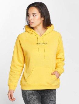 Element Sweat capuche Start Oversized jaune