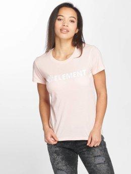 Element T-Shirt Logo rosa