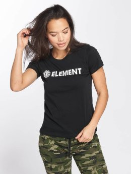 Element T-Shirt Logo schwarz