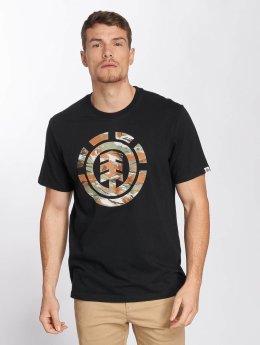 Element t-shirt Sawtooth zwart