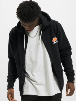 Ellesse Hoodies con zip Miletto nero
