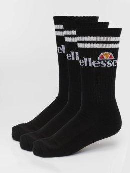 Ellesse Ponožky Pullo 3 Pack čern