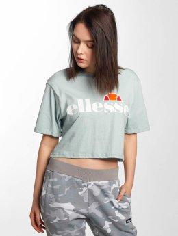 Ellesse T-Shirt Alberta Crop bleu