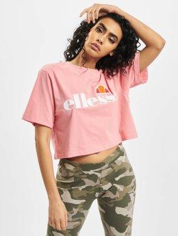 Ellesse T-shirt Alberta rosa chiaro