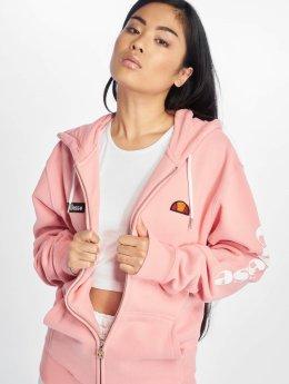 Ellesse Zip Hoodie Serinatas rosa