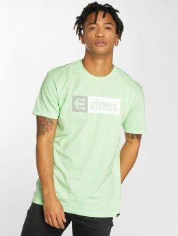 Etnies t-shirt New Box groen