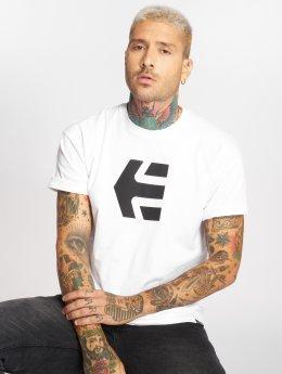 Etnies T-Shirty Mod Icon bialy