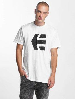 Etnies T-skjorter Icon Fill hvit