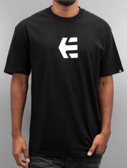 Etnies T-skjorter Icon Mid svart