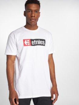 Etnies Tričká New Box biela