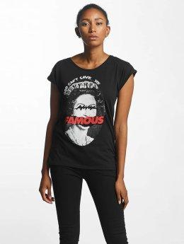 Famous Stars and Straps Camiseta God Cant Save negro