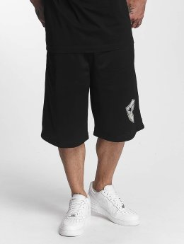 Famous Stars and Straps Shorts Logo nero