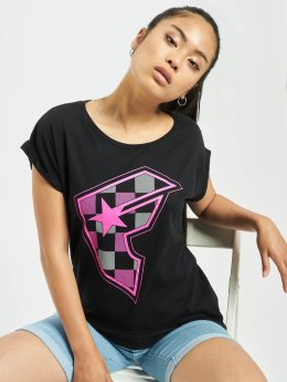 Famous Stars and Straps T-Shirt Ladies Buffalo black