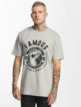 Famous Stars and Straps T-Shirt Shocker grau