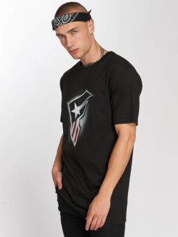Famous Stars and Straps T-Shirt Flag noir