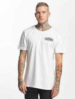 Famous Stars and Straps T-Shirt Chaos weiß
