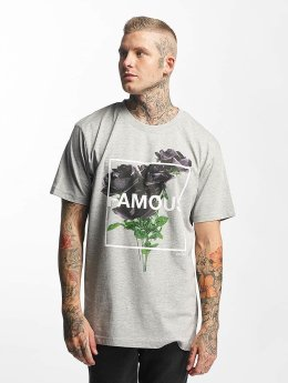 Famous Stars and Straps Life and Death T-Shirt Heather Grey