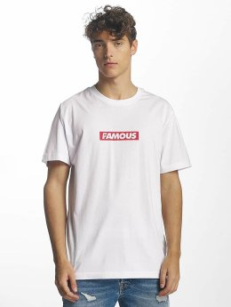 Famous Stars and Straps Famous Box Logo T-Shirt White