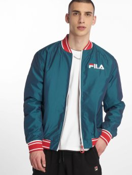 FILA Bomber jacket Skyler Iridescent Embriodered green