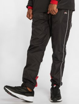 FILA Spodnie do joggingu Talmon Woven czarny