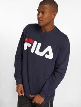 FILA Swetry Classic Logo niebieski