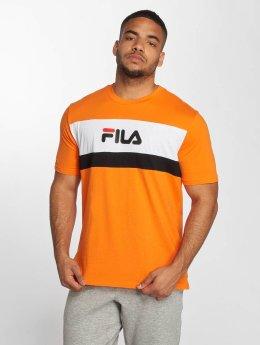 FILA t-shirt Aaron oranje