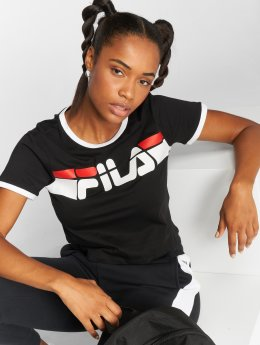 FILA T-Shirt Urban Line Ashley Cropped schwarz