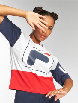 FILA T-Shirty Urban Line Late 2.0 Cropped bialy