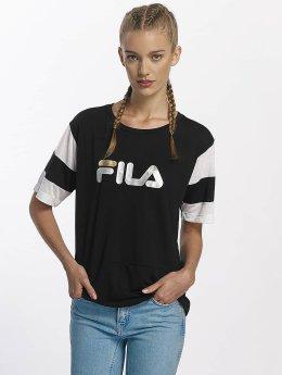 FILA T-Shirty Petite Isao Blocked czarny