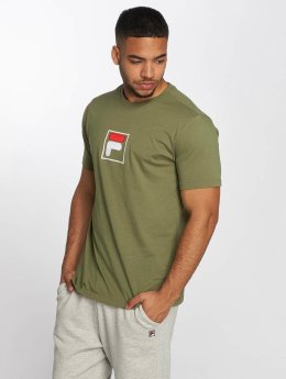FILA T-Shirty Urban Line Evan oliwkowy
