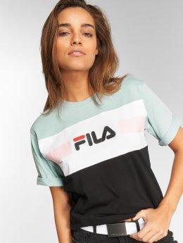 FILA T-Shirty Urban Line Shannon turkusowy