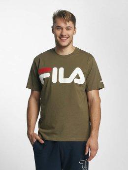 FILA T-skjorter Urban Line Classic Logo oliven