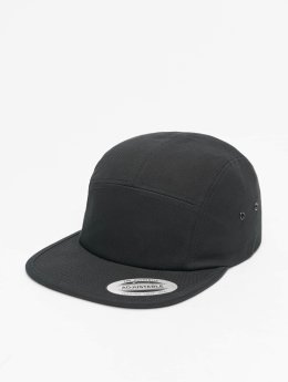 Flexfit 5 Panel Caps Classic Jockey svart