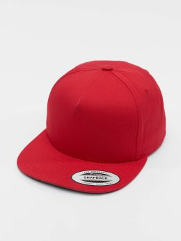 Flexfit Snapback Caps Classic 5 Panel punainen